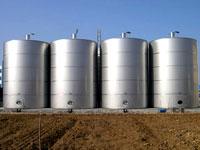 立式不锈钢油罐,贮存 除氧设备